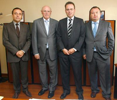 EL DIRECTOR GENERAL DE EMPLEO DE SERVEF, D. FELIPE CODINA BELLÉS, SE REUNIÓ CON REPRESENTANTES DE FEPEVAL