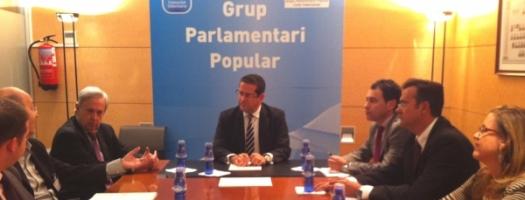 Bellver y Maluenda se reúnen con representantes de FEPEVAL