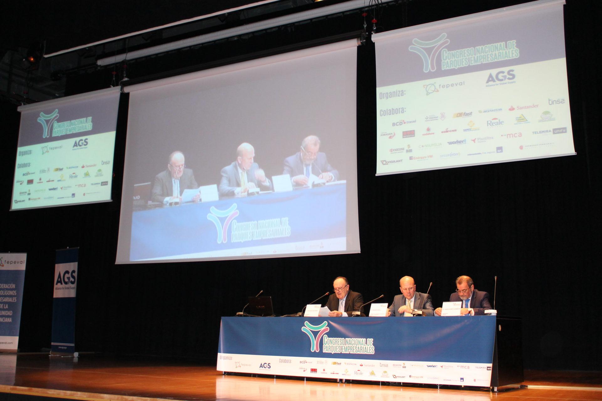 Congreso Nacional de Parques Empresariales en Valencia