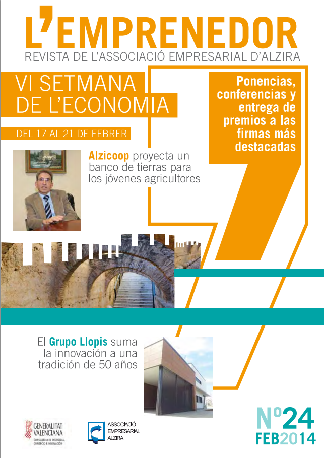 Revista deL'Associació Empresarial d'Alzira L'EMPRENEDOR