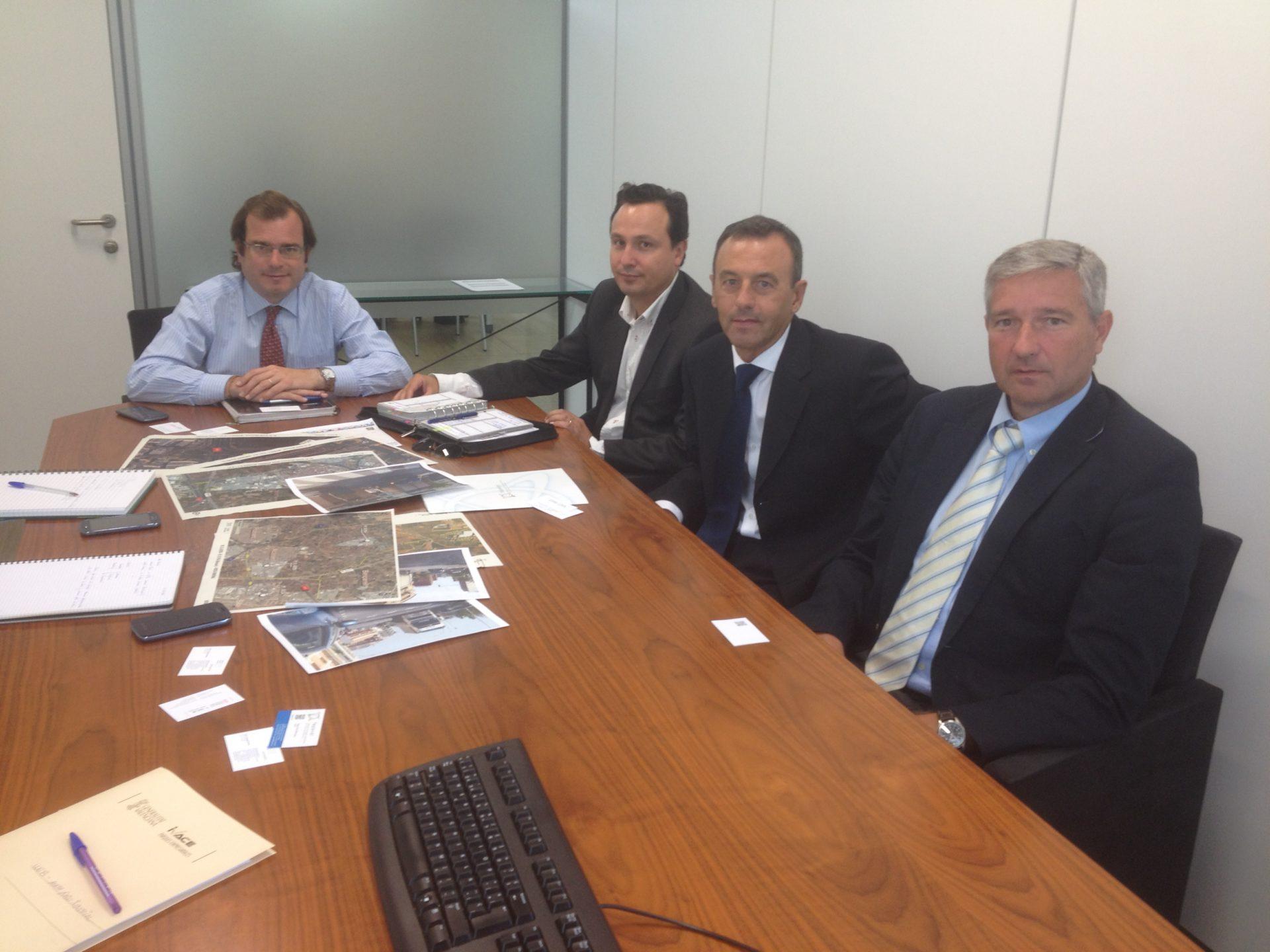Reunión con DG Industria sobre problemas accesos a los parques empresariales de Alcàsser, Picassent y Almussafes