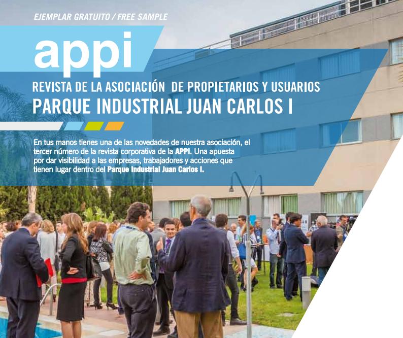 Tercer número de la revista corporativa de APPI.
