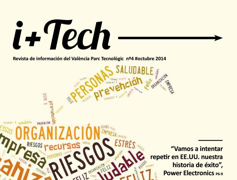 Publicación del cuarto número de la revista de València Parc Tecnológic.