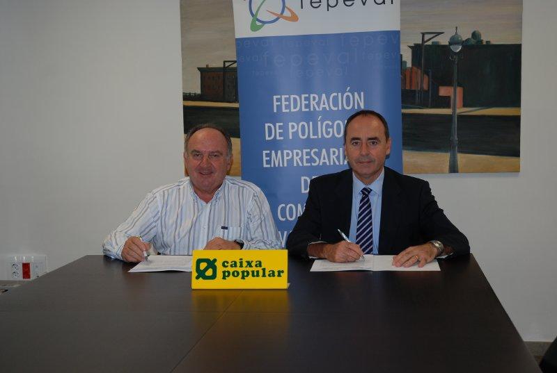 La Federación de Polígonos Empresariales de la Comunitat Valenciana y Caixa Popular impulsan el movimiento asociativo empresarial