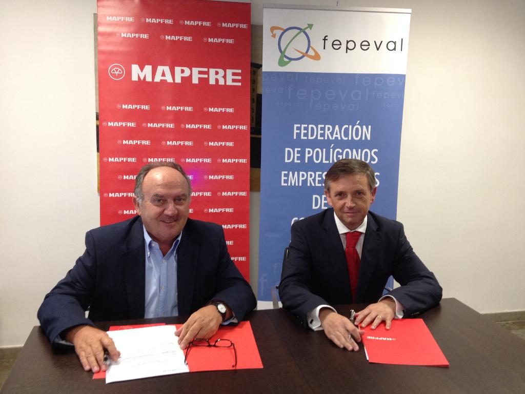 FEPEVAL y MAPFRE suscriben un Convenio de colaboración en materia de Seguros y Riesgos Empresariales