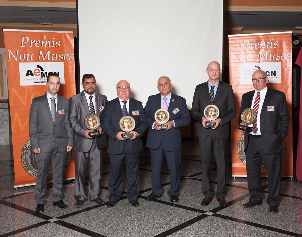 La Asociación Empresarial de Moncada, Alfara del Patriarca y Nàquera (AEMON) celebra la XII edición de los  premios Nou Muses.