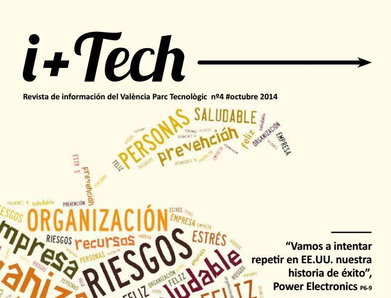 Cuarto número de la revista del Parque Tecnológico I+Tech.