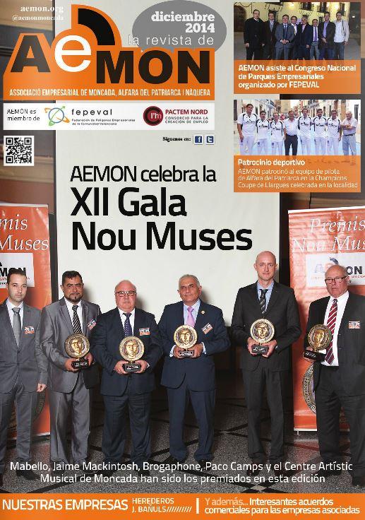Undécima edición de la revista de la Associació Empresarial de Moncada, Alfara del Patriarca i Nàquera (AEMON).