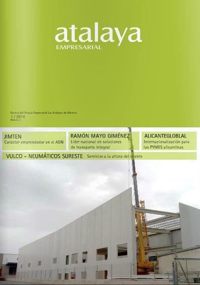Sexta edición de la revista de la Entidad de Conservación del Polígono Industrial Las Atalayas (Alicante).