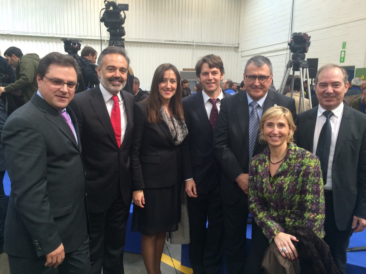 La APPI participó en la visita de Rajoy y el Presidente mundial de Ford a la planta de Almussafes