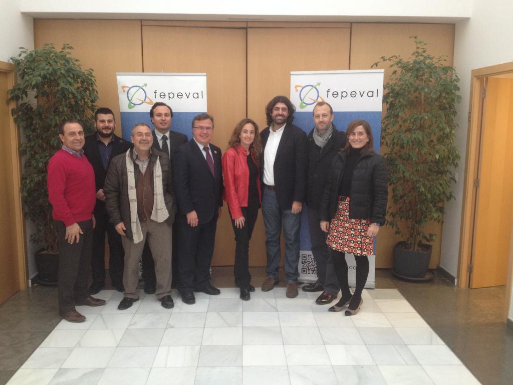 Carolina Punset (CIUDADANOS Comunitat Valenciana) se reúne con FEPEVAL.
