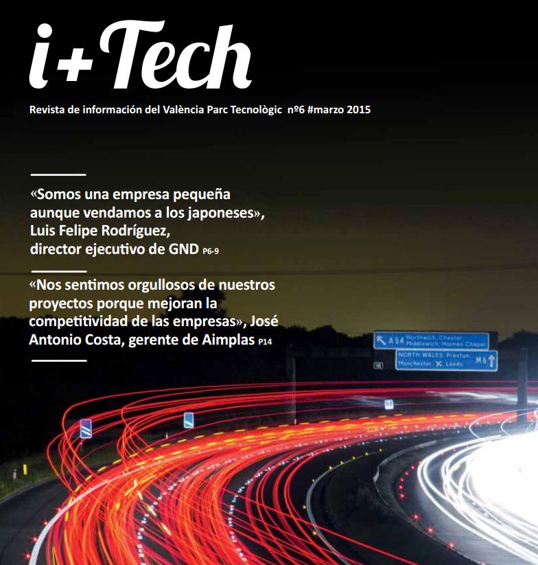 6º número de la revista València Parc Tecnològic I+Tech