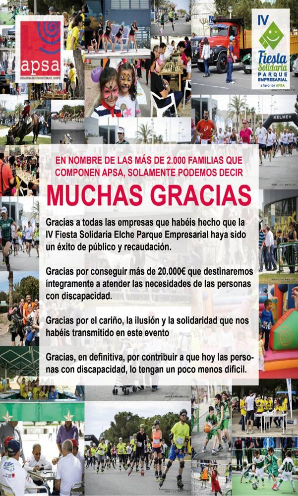 IV Fiesta Solidaria Elche Parque Empresarial