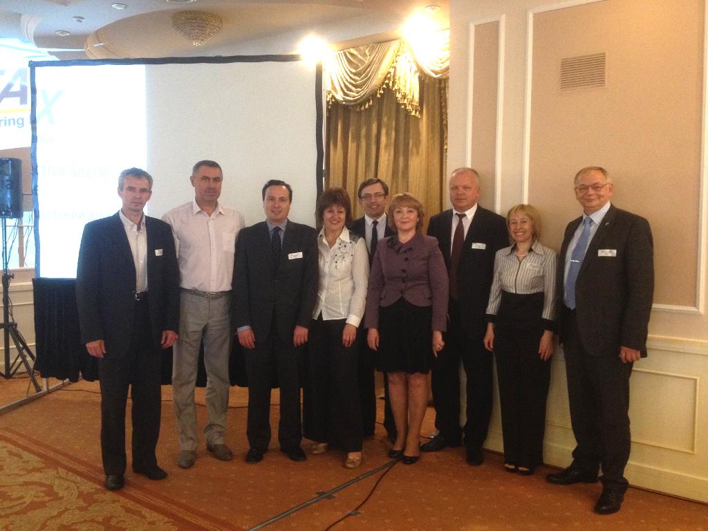 AEMON participa en Kiev en un seminario sobre diálogo social organizado por la Comisión Europea