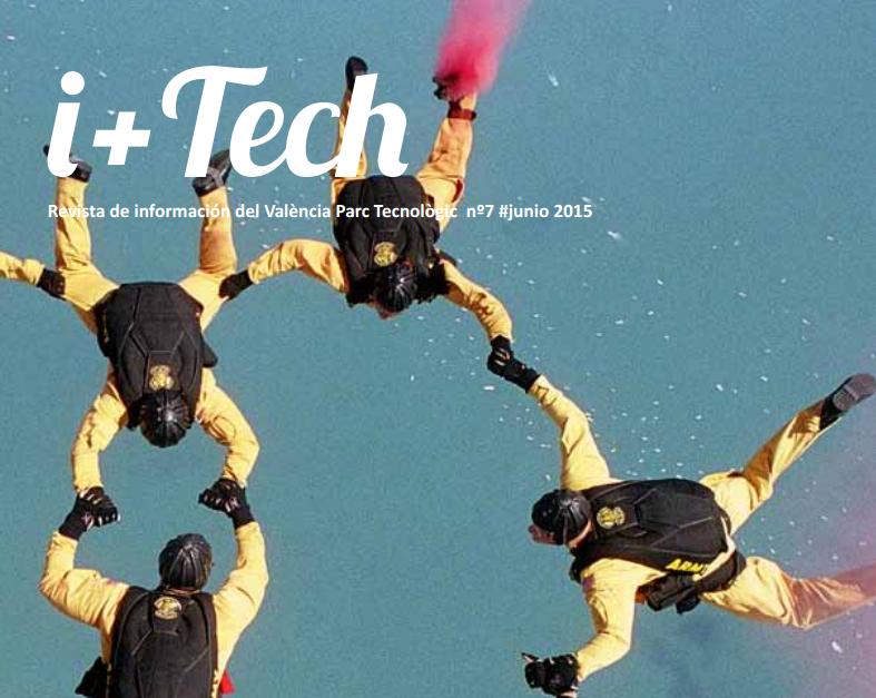 """7º número de la revista del Parque Tecnológico """"I+Tech""""."""