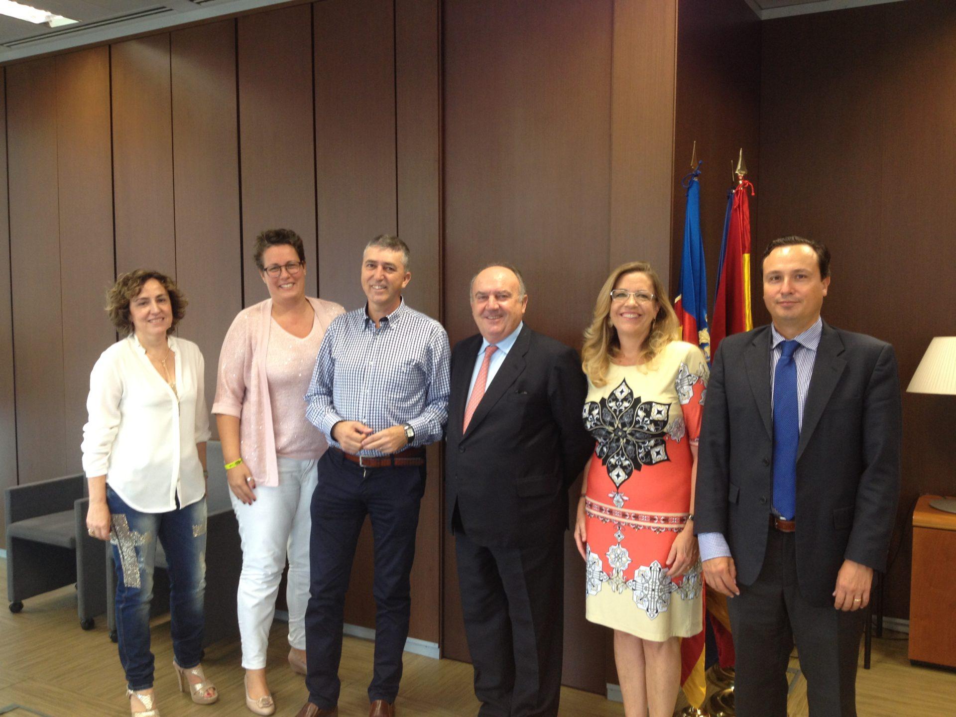 FEPEVAL se reúne con el Conseller de Economía Sostenible Rafael Climent para la mejora de la gestión de las áreas empresariales de la Comunitat Valenciana.