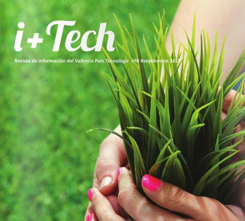 """8º número de la revista del Parque Tecnológico """"I+Tech""""."""
