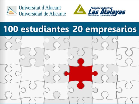 """Memoria fotográfica de la actividad """"100 estudiantes, 20 empresarios"""""""