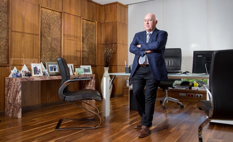 Joaquín Pérez Presidente de E.U.C. Elche Parque Empresarial portada de Economía3