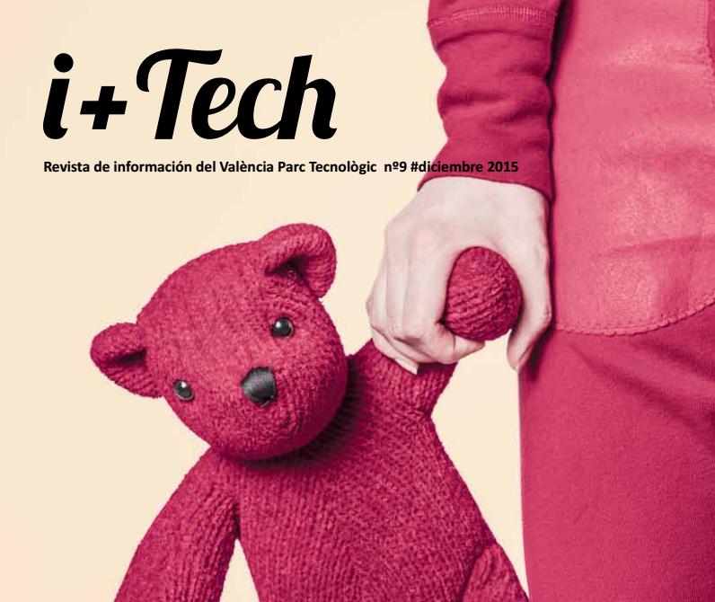 """9º número de la revista de València Parc Tecnològic """"I+Tech"""""""