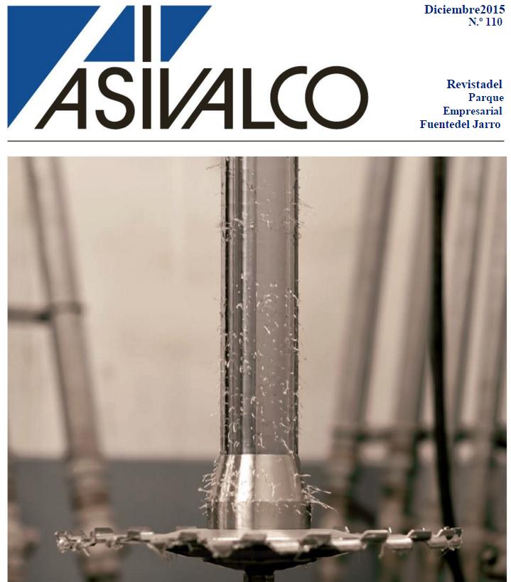 Edición número 110 de la Revista ASIVALCO Parque Empresarial Fuente del Jarro (Paterna)