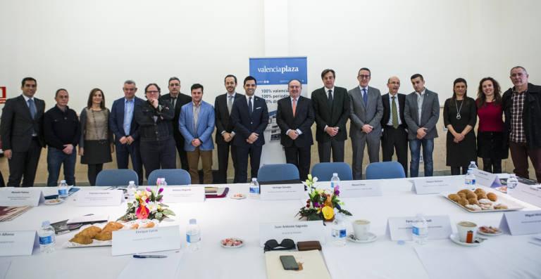 Desayuno empresarial de valencia plaza 4 marzo 2015: Paterna y el reto de los polígonos industriales inteligentes