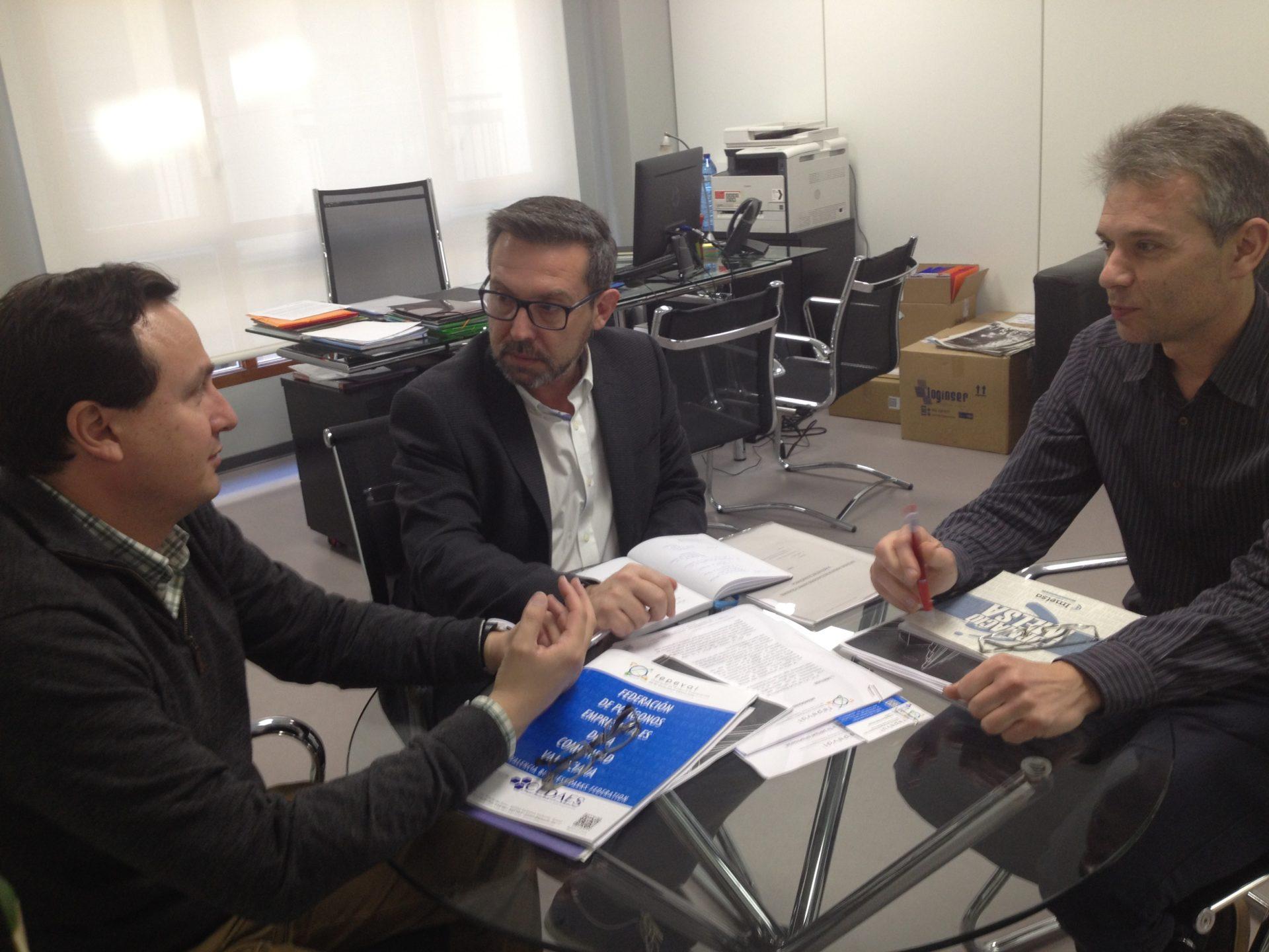 FEPEVAL se reúne con Víctor Sahuquillo, nuevo gerente de IMELSA.