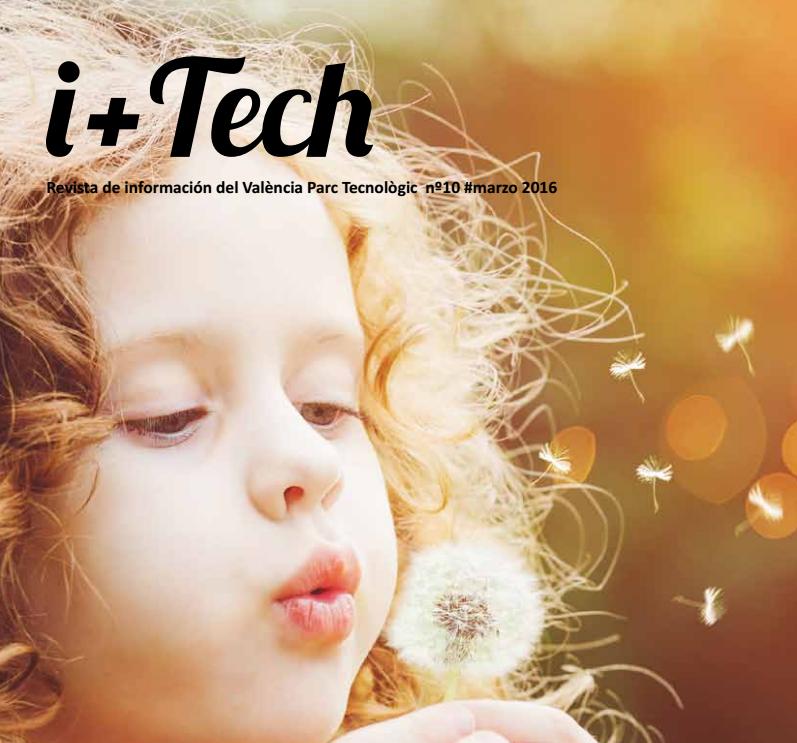 """10º número de la revista de València Parc Tecnològic """"I+Tech""""."""