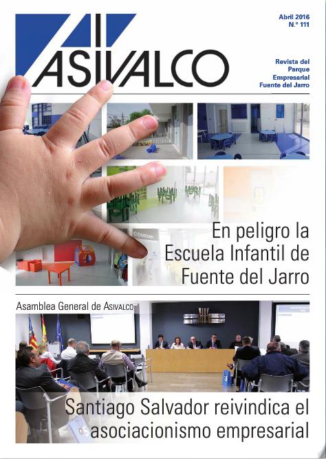 Publicada la revista de ASIVALCO de ABRIL 2016.