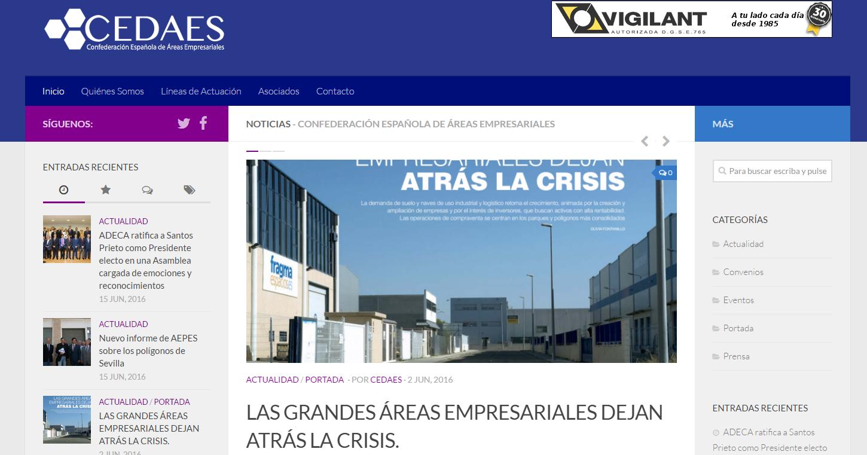 CEDAES actualiza su página web