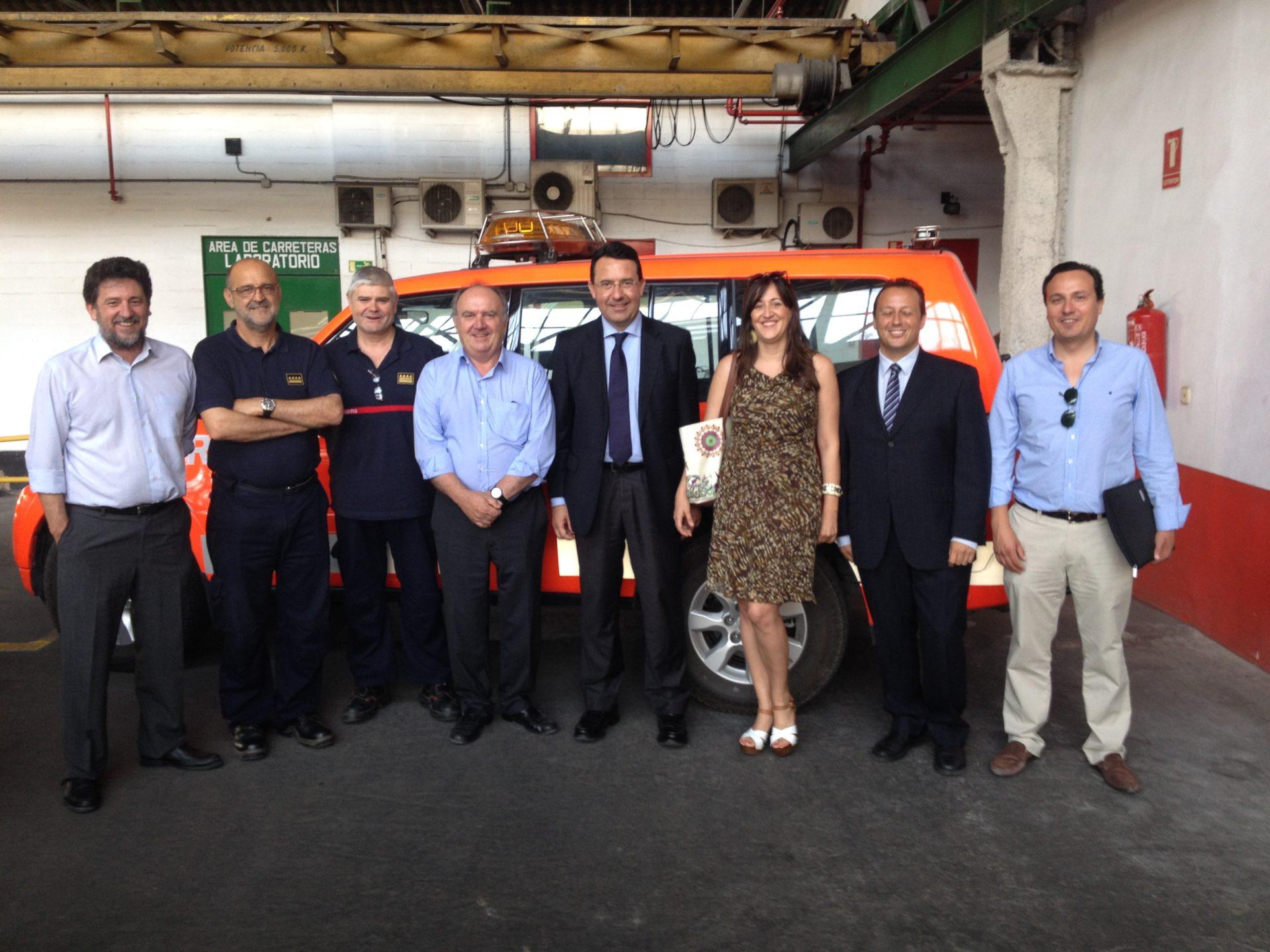 Firma protocolo emergencias y autoprotección en parques empresariales de la provincia de València.
