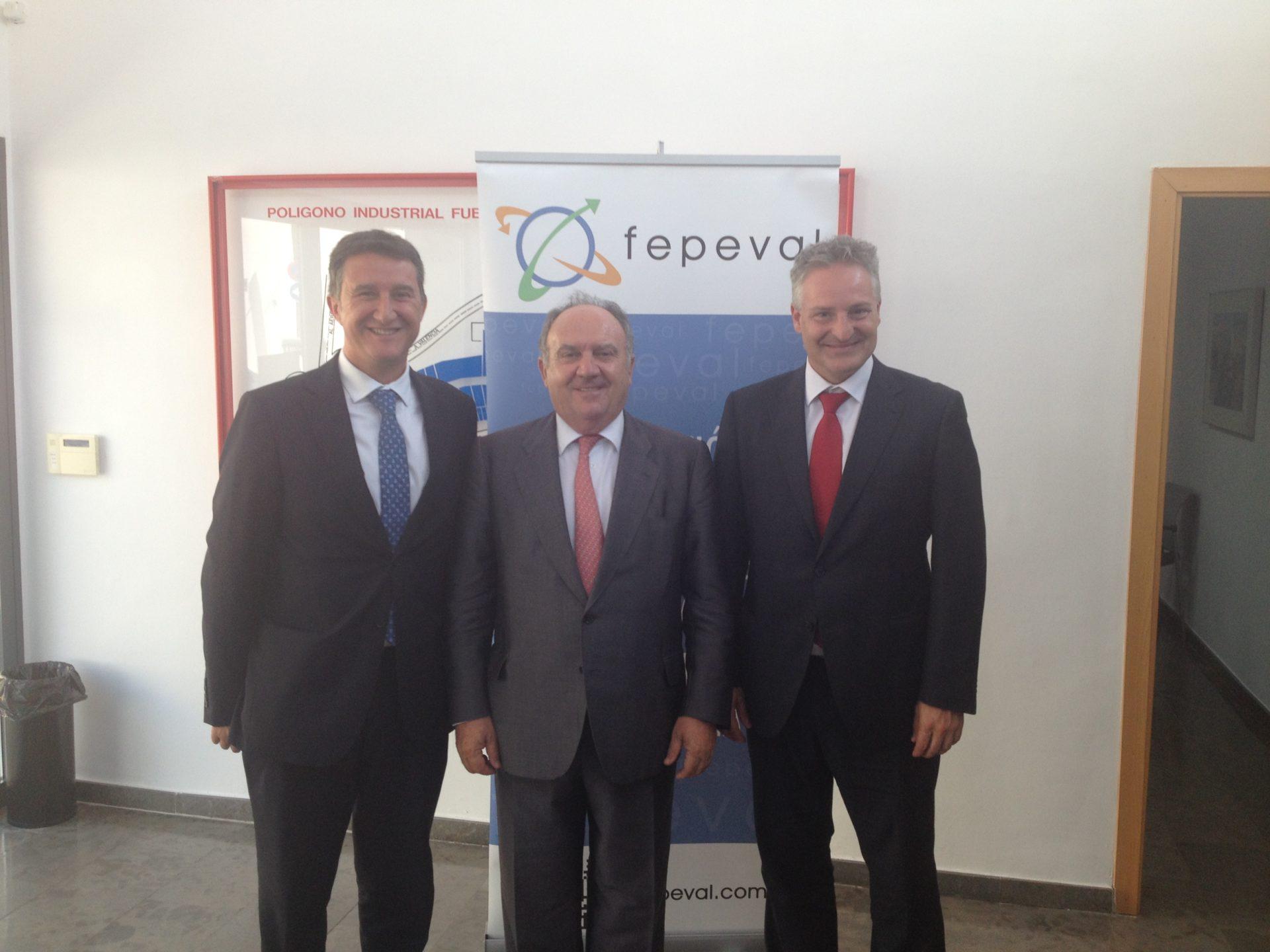 FEPEVAL y MAPFRE firman la renovación del acuerdo de FEPEPROVEEDOR.