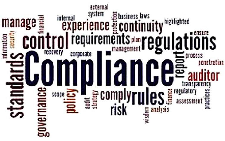 COMPLIANCE: marco de unión de normativa interna (auditoria, riesgos laborales, LOPD, ..) y gestión interna.