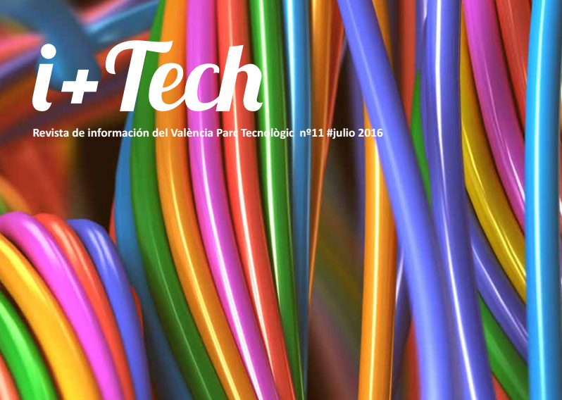 """11º numero de la revista del Parque Tecnológico """"I+Tech""""."""