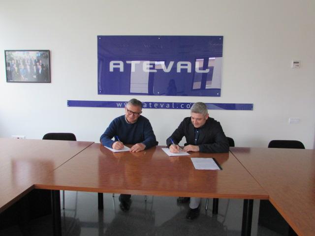 Acuerdo entre ATEVAL y FEPEVAL sobre el portal de naves y suelo industrial TOPNAVES en La Vall d'Albaida.