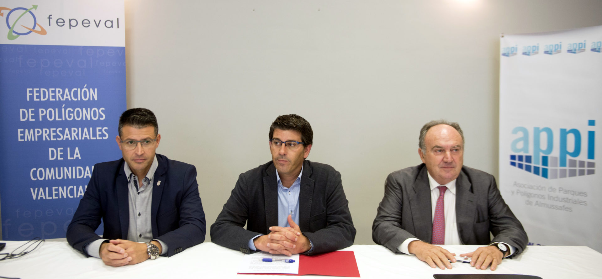El President de la Diputació de València Jorge Rodríguez asiste a la junta directiva de FEPEVAL celebrada en APPI (Almussafes).