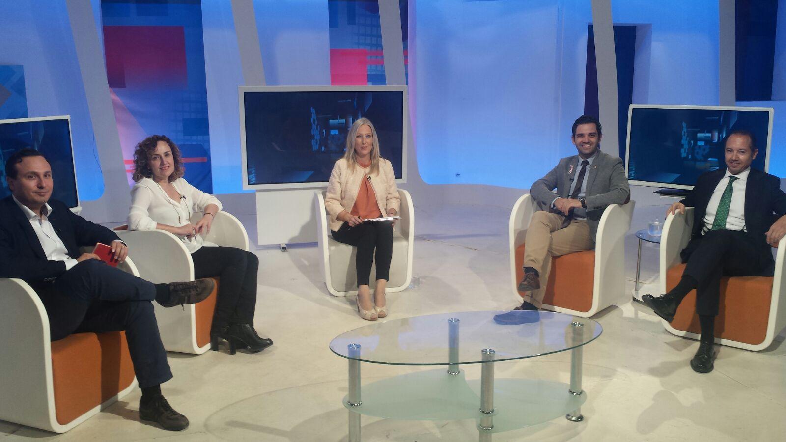 Tertulia TV sobre la futura ley de Áreas Empresariales