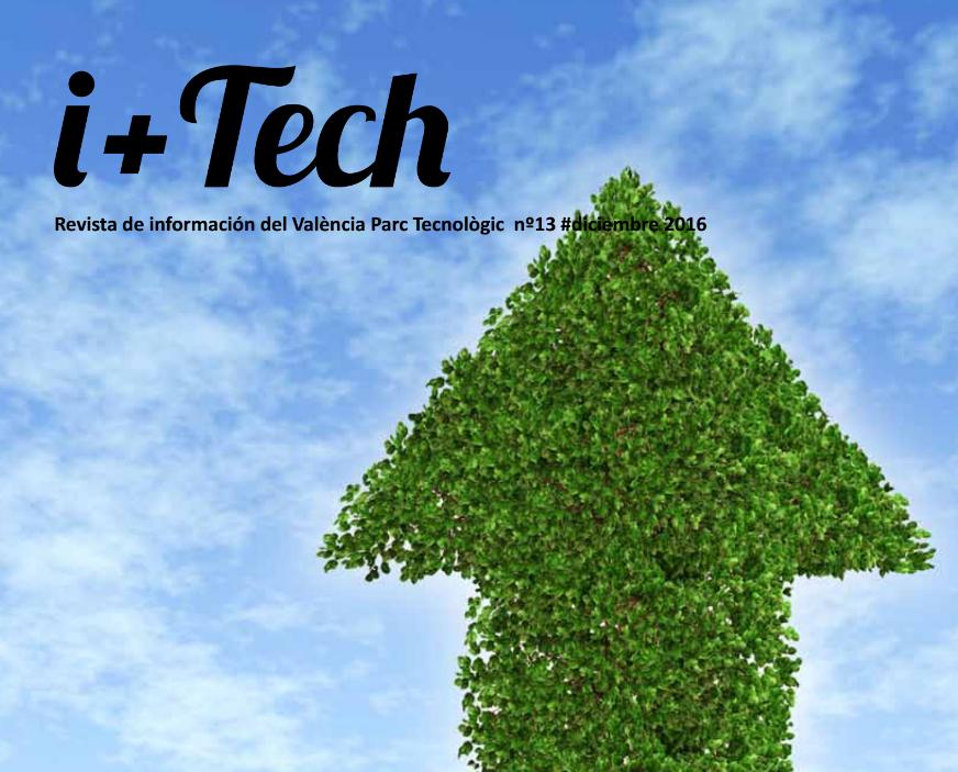 """Número 13 de la revista de València Parc Tecnològic """"I+Tech""""."""