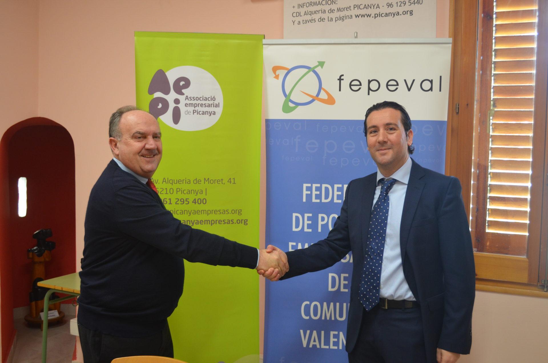 L'Associació Empresarial de Picanya -AEPI- ingressa com a membre de ple dret en la Federació de Polígons Empresarials de la Comunitat Valenciana, FEPEVAL.