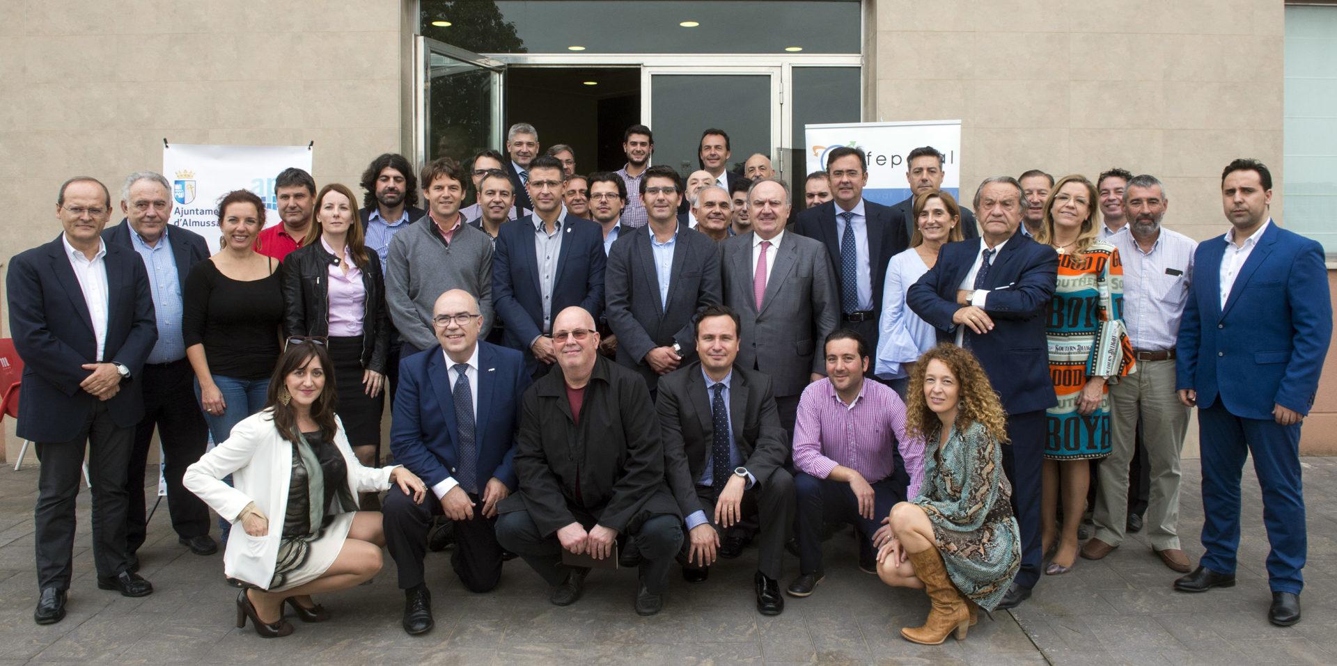 FEPEVAL celebra junta directiva en el Parque de Proveedores Juan Carlos I (Almussafes).