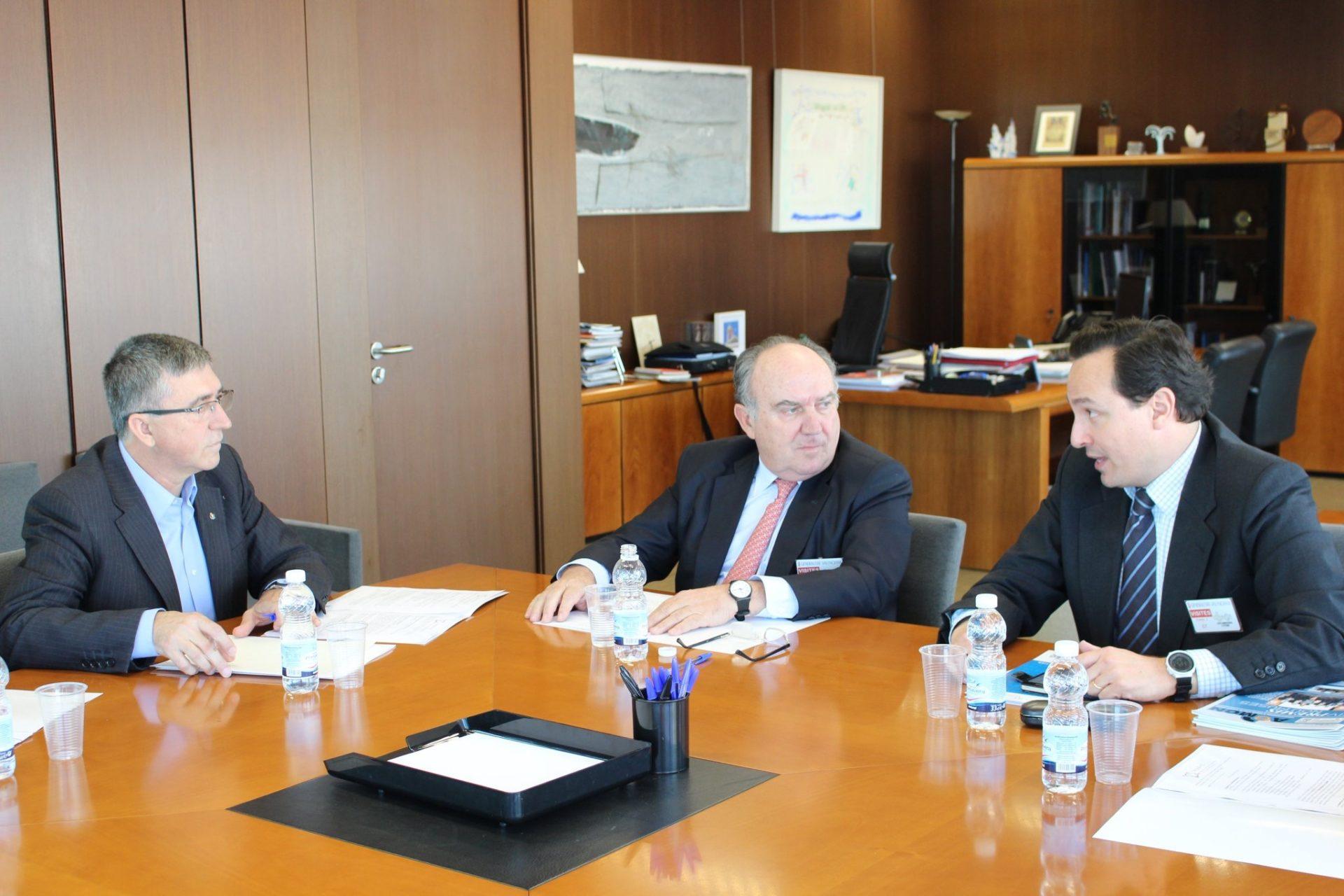FEPEVAL se reúne con el Conseller de Economía Sostenible Rafael Climent