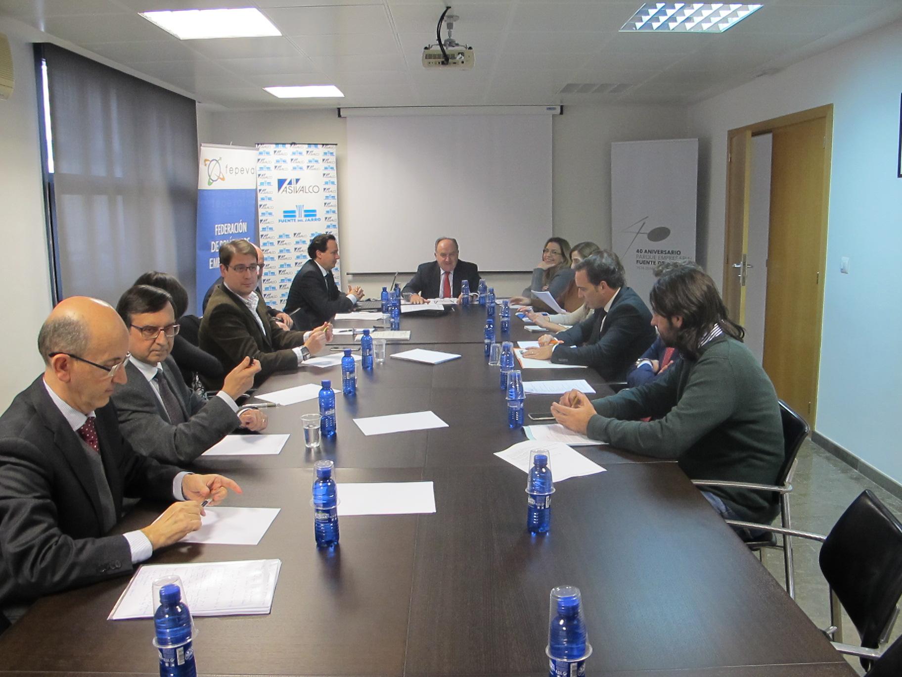 FEPEVAL se reúne con la Comisión de Industria de Les Corts Valencianes.