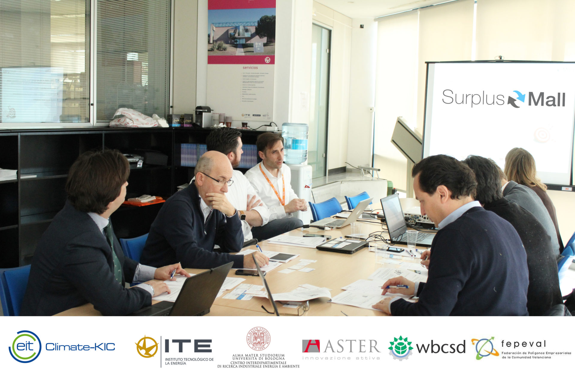 FEPEVAL y ASIVALCO participan en la reunión de arranque del proyecto sobre economía circular SURPLUS MALL.