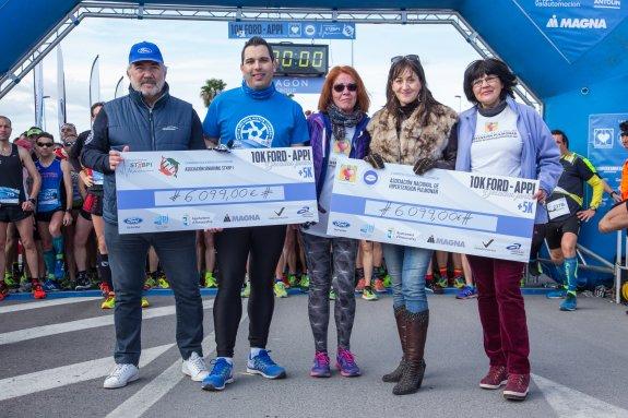 Éxito de la carrera solidaria 10K de Ford en Almussafes