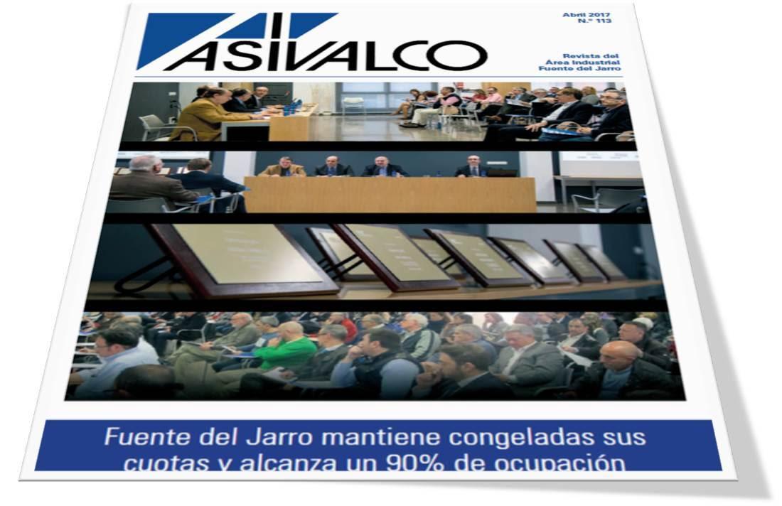 Revista de ASIVALCO,  abril 2017
