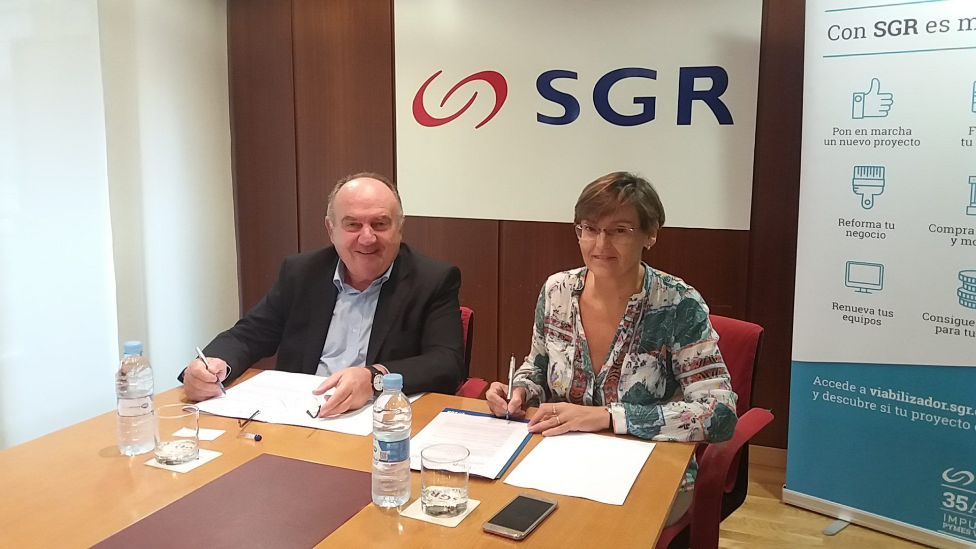 SGR y FEPEVALfirman acuerdo de Fepeproveedor