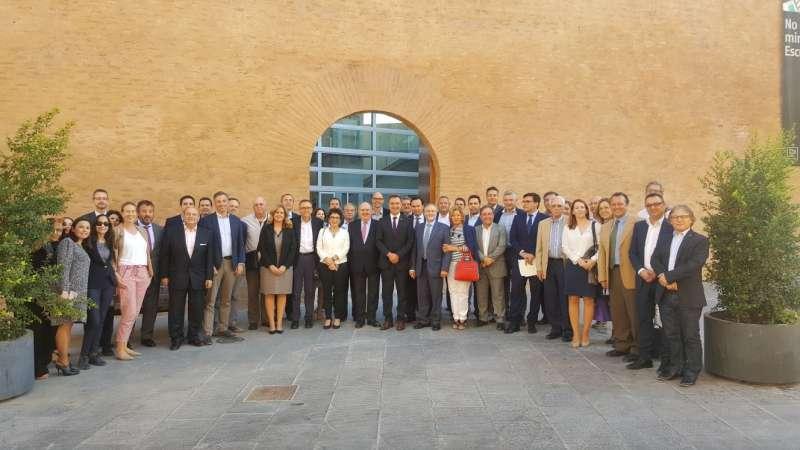 Empresarios de toda la Comunidad Valenciana asisten en Riba-roja a la junta directiva de Fepeval