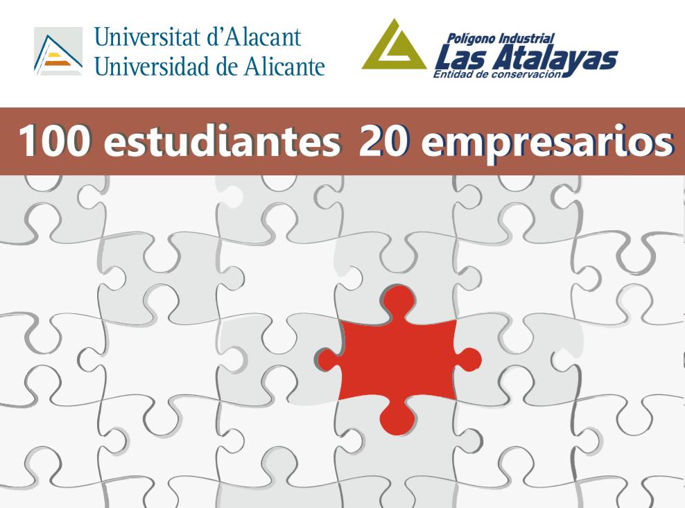 L'Alacantí. EUC Las Atalayas (Alicante): 100 estudiantes, 20 empresarios.