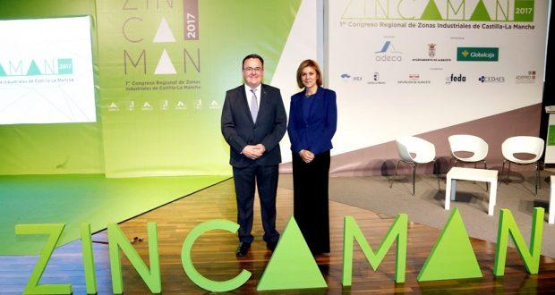 """ZINCAMAN """"será el germen de una futura Asociación que aúne a todas las Áreas Industriales de Castilla La Mancha"""""""
