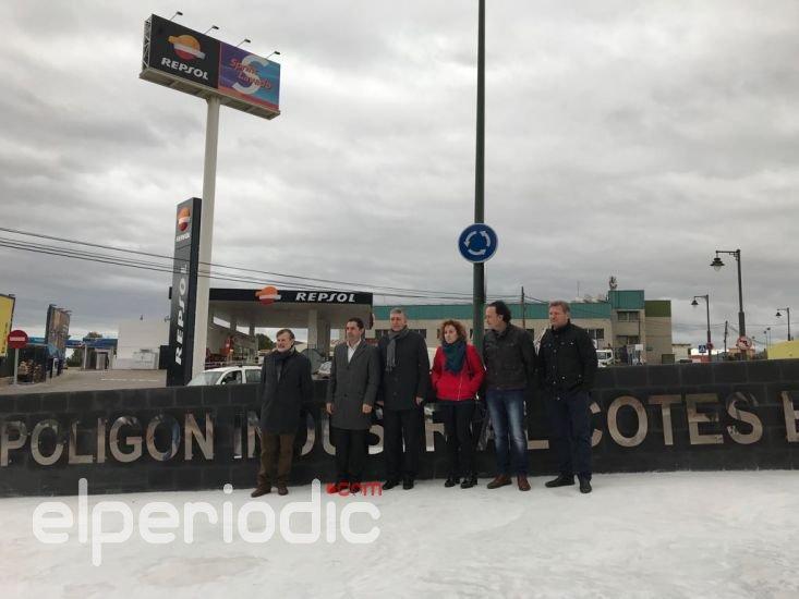 Climent: 'El Consell ha invertit més de 6 milions d'euros per a millorar i modernitzar 11 polígons industrials de l'Alcoià'